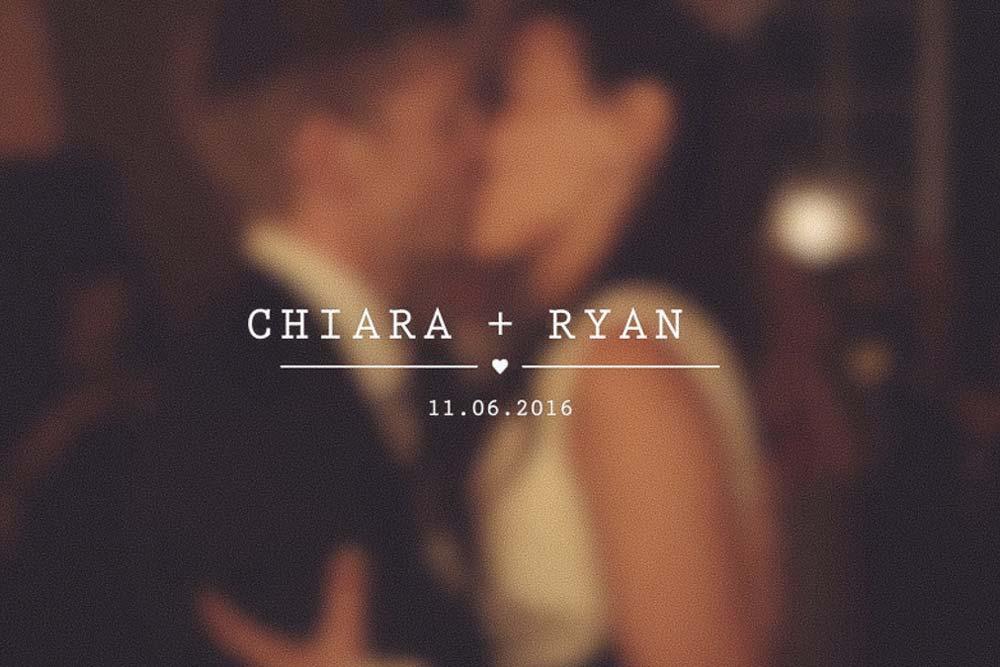 Chiara + Ryan